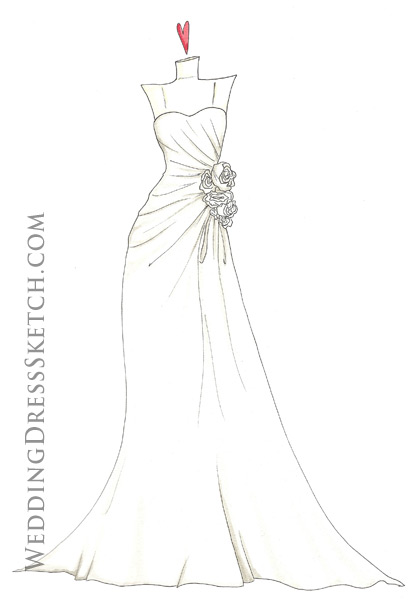 Wedding Dress Artwork