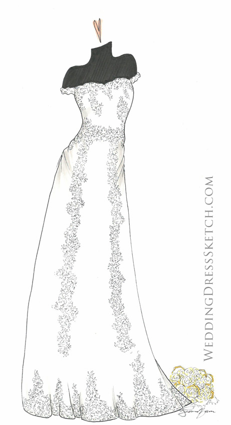 custom wedding dress design